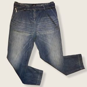 Armani Jeans High Waisted Belted Size 42
